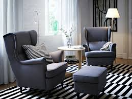Wingback Chair Ottoman Design Ideas Furniture Wonderful Wingback Chair Slipcover For More Beautiful