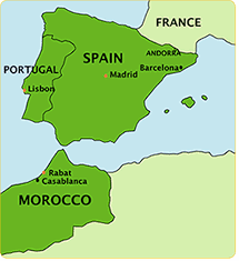 Morocco Africa Map by Black History Heroes Estevanico Aka Estaban The North African