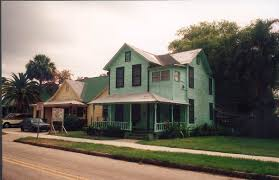 florida memory wood frame house at 2003 n central avenue in the
