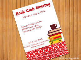 E Card Invite Lovely Book Club Invitations E Cards And Card Samples To Inspire