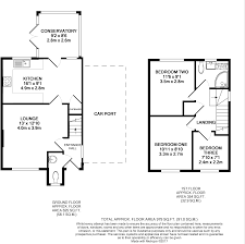 ft to meters 3 bedroom detached house for sale in plover close oakham le15