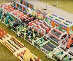 Halloween Inflatable Train The World U0027s Biggest Inflatable Playground Made For Adults Bored