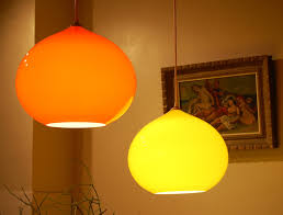 pendant lighting ideas amazing ideas orange glass pendant light