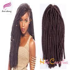 soft dred hair 16 soft dread hair piece havana mambo faux locs hair synthetic