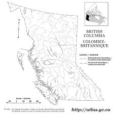 columbia outline map