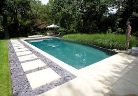 Natural Pools by In Ground Swimming Pool Concrete Natural Outdoor Surrey