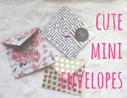how to make an envelope stuff