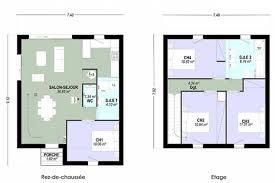 plan etage 4 chambres plan maison etage 4 chambres 2 contemporaine dominique charles 8354