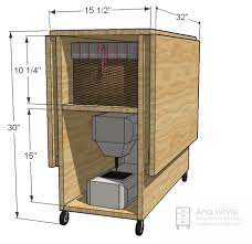 White Sewing Machine Cabinet by Innovative Plans For Sewing Machine Table And Amish Furniture