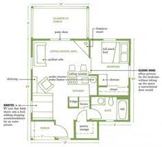 Mountain Cabin Floor Plans Modern Style House Plan 1 Beds 1 5 Baths 735 Sq Ft Plan 914 3