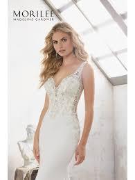 sheath wedding dress mori 8113 beaded crepe sheath wedding dress ivory rumpink silver