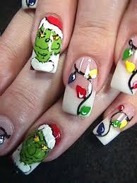 christmas nail art nail designs for occasions u2013 nailkart com