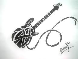 100 small guitar tattoo one direction u0027s harry styles