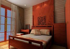 Chinese Bedroom Chinese Bedroom Wall Curtains 3d House