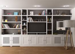 15 ideas of fitted wall units living room