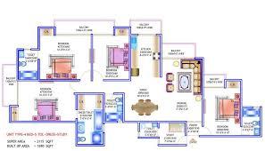 prateek wisteria noida prateek wisteria noida floor plan site 4bhk servant 2115 sq ft in prateek wisteria noida 2115 sq ft