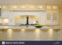 Aga Kitchen Design Modern Contemporary Kitchen With Aga Cooker Stock Photo Royalty