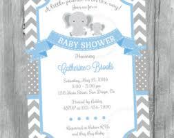 baby shower invitations elephant baby shower invitations elephant