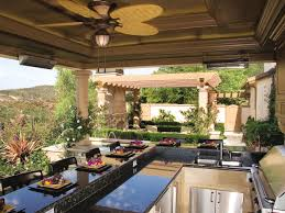 Kitchen Countertop Ideas by Outdoor Kitchen Countertops Options Hgtv