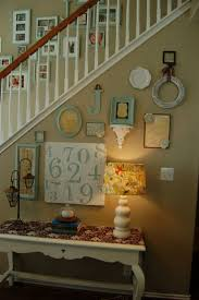 wall ideas stair wall decor pictures design decor curved
