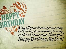 Halloween Birthday Greeting Messages happy birthday wishes for girlfriend and wife messages and quotes