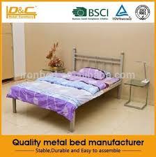 Tempat Tidur Besi Lipat wrough tidur besi logam tempat tidur anak anak logam tempat tidur
