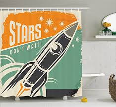 Science Humor Shower Curtains Science Humor Fabric Shower Vintage Decor Shower Curtain Quote With Radiant Tone Futuristic