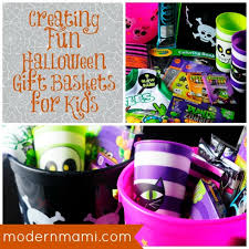 Gift Baskets For Kids Halloween Gift Baskets For Kids Simple Yet Fun Idea For