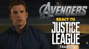 justice league the avengers react to justice league trailer youtube