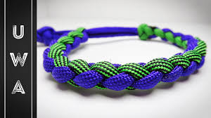 paracord bracelet style images How to make a four strand round paracord bracelet mad max style jpg