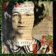 Caplan Art Designs Mixed Media Collage Michelle Caplan Altered Inspiration