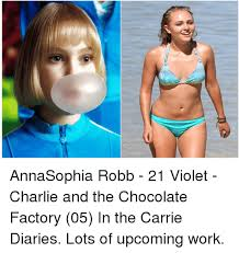 Charlie And The Chocolate Factory Meme - annasophia robb 21 violet charlie and the chocolate factory 05