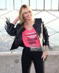 Empire State Building Halloween Light Show Candice Swanepoel Visits The Empire State Building Photos And