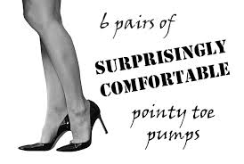 What Are The Most Comfortable High Heels Surprisingly Comfortable Pointy Toe Pumps Easy Petite Looks