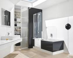 Black And White Laminate Floor White Wall Paint Black Bathtub Cherry Wooden Laminate Flooring