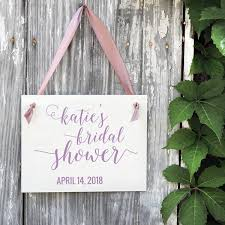 Bridal Shower Signs Wedding Signs For Ring Bearers Flower Girls Ceremonies
