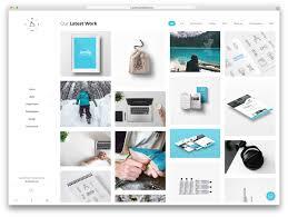 Stunning Graphic Design Work From 40 Best Personal Portfolio Wordpress Themes 2017 Colorlib