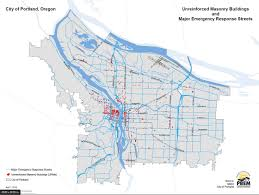 Map Of Portland Or Area by Map Shows 1 800 Portland Buildings Vulnerable In Earthquake Kgw Com