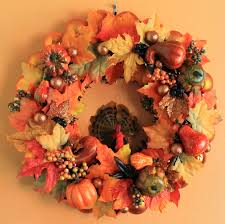thanksgiving ornament wreath from halloween u0027leftovers u0027 put a