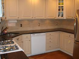 white backsplash tiles refacing formica cabinets countertop