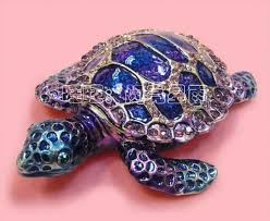 2018 turtles trinkets alloy ring box turtle big turtle ornaments