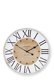 buy rustic numeral wall clock from the next uk online shop home