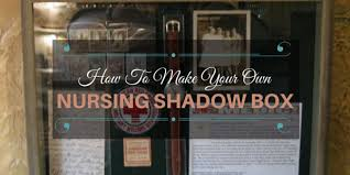 graduation shadow box how to make your own nursing shadow box nursebuff