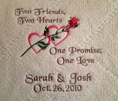 personalized wedding blanket personalized two hearts two friends blanket let sgetpersonal