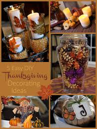Home Made Thanksgiving Decorations by Easy Thanksgiving Decorations For The Table Themontecristos Com