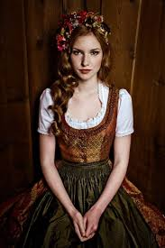 dirndl dress german austrian folk traditional costume