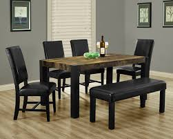 Black Dining Room Set Distressed Dining Room 2016 Best 25 Rustic Dining Set Ideas That