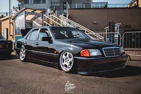 bagged mercedes cls mk1 jetta slam sanctuary