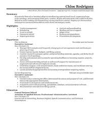 executive administrative assistant resume executive administrative assistant resume applicable imagine exle