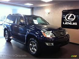 lexus metallic 2009 lexus gx 470 in nautical blue metallic 174761